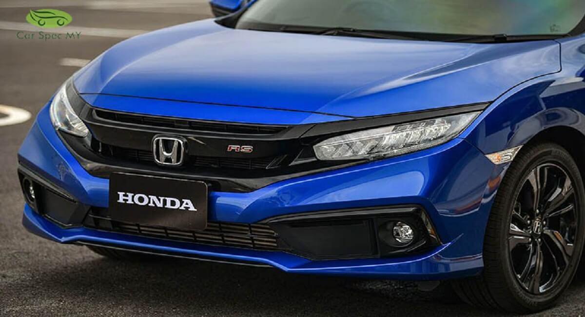 Honda Civic 2020 Malaysia Front