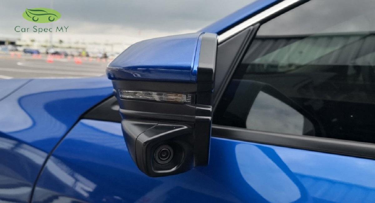 Honda civic lane watch camera