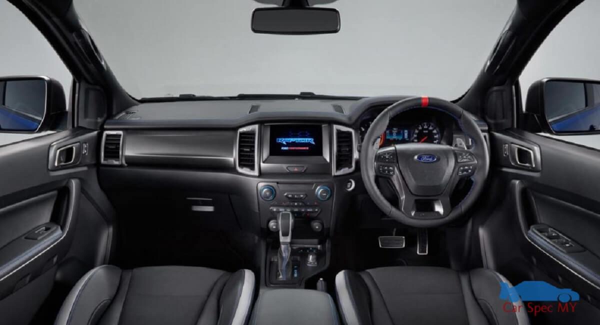 Ford Ranger Raptor Interior Malaysia 2020