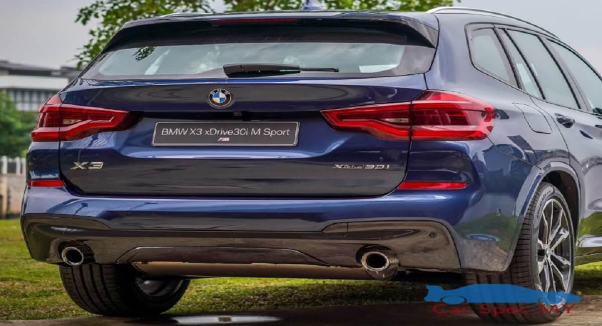 BMW X3  Malaysia Back Design Malaysia 2020