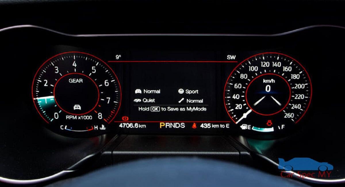 Mustang Speed Meter 2020
