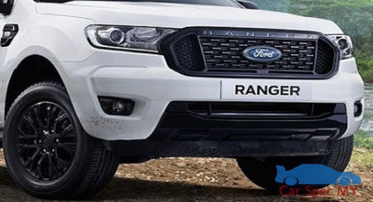 Ford Ranger Front Design 2020