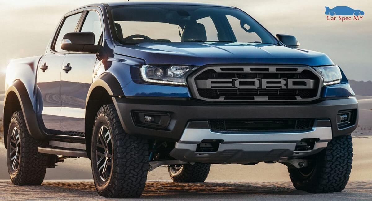 Ford Ranger Raptor Exterior Malaysia 2020