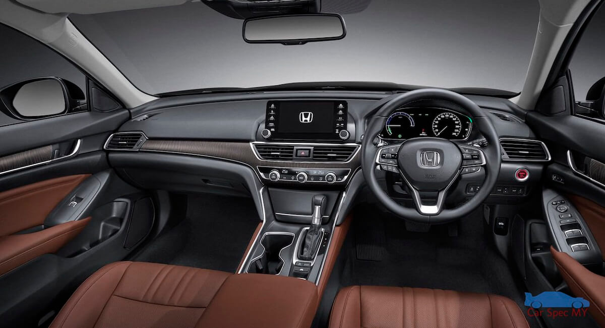 Accord interior design