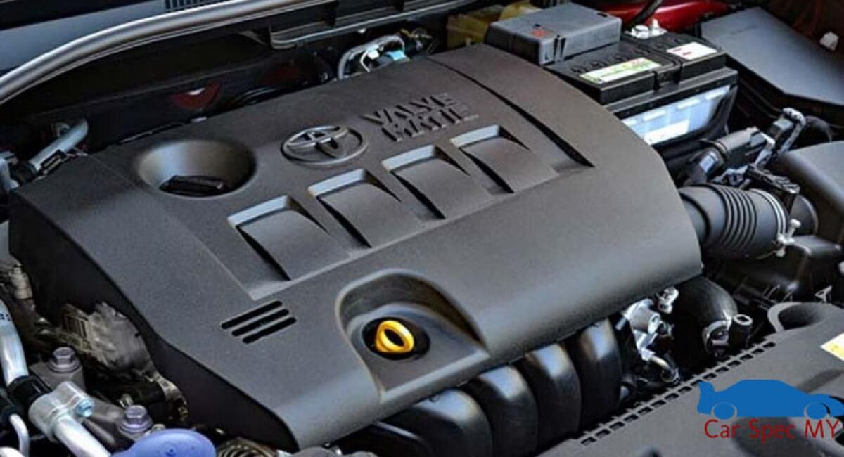 Toyota CHR Malaysia Engine 2020