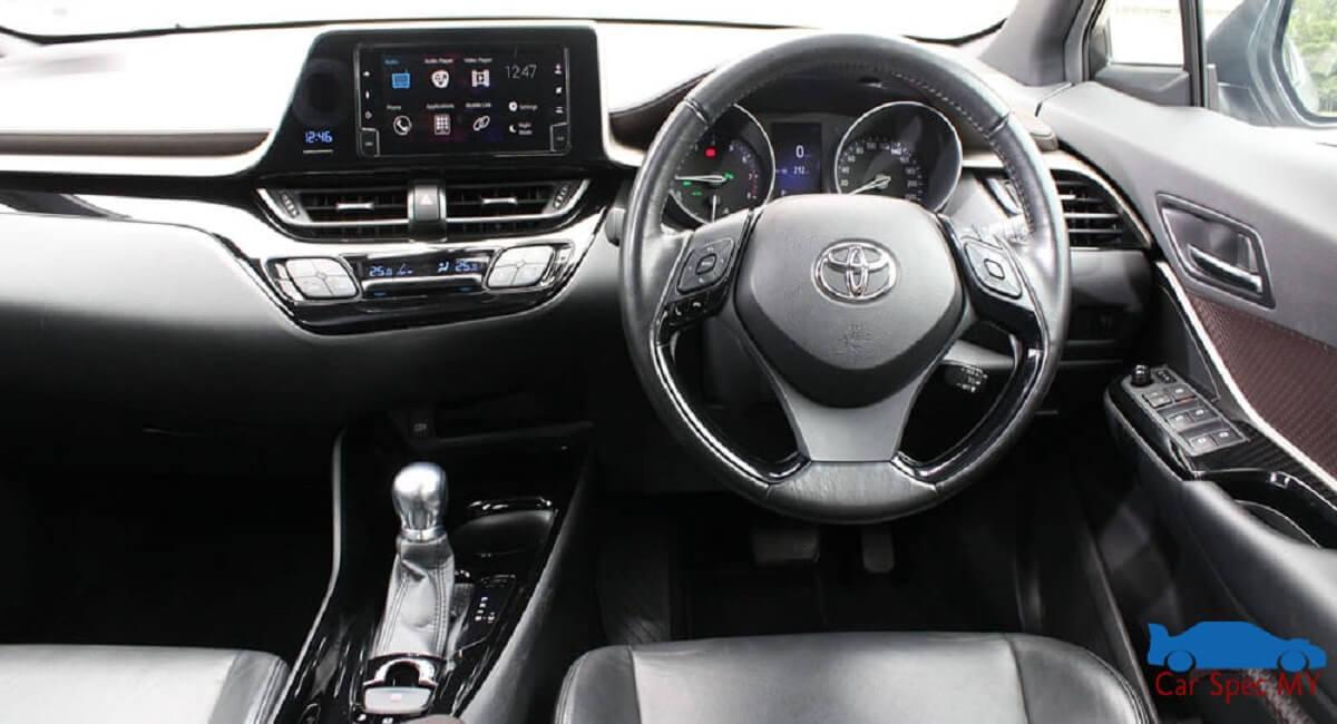 Toyota CHR Malaysia Interior Design 2020