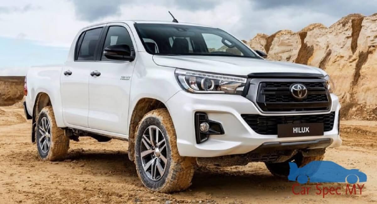 Toyota Hilux Malaysia Exterior 2020