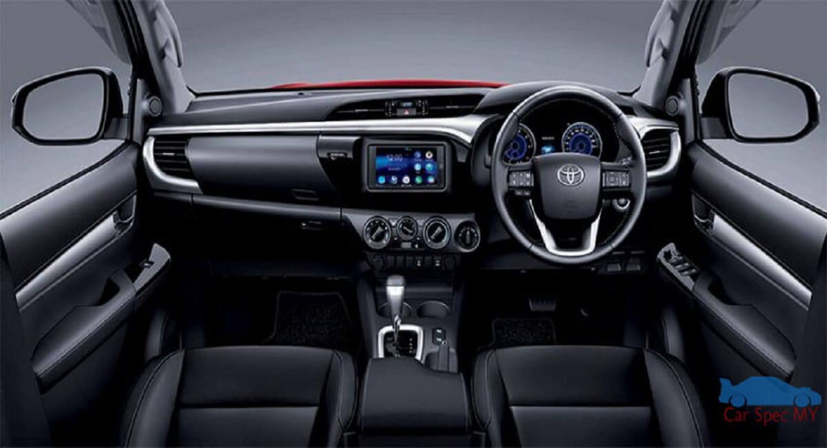 Toyota Hilux Malaysia Interior 2020