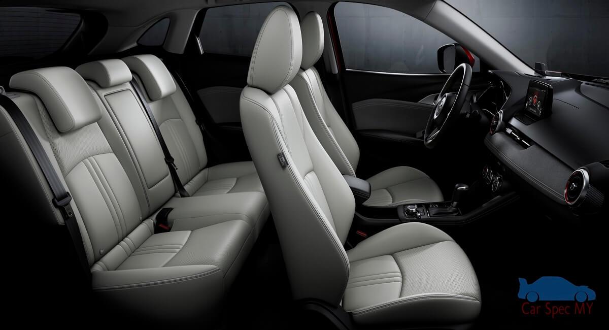 Mazda 3 Interior back Malaysia 2020