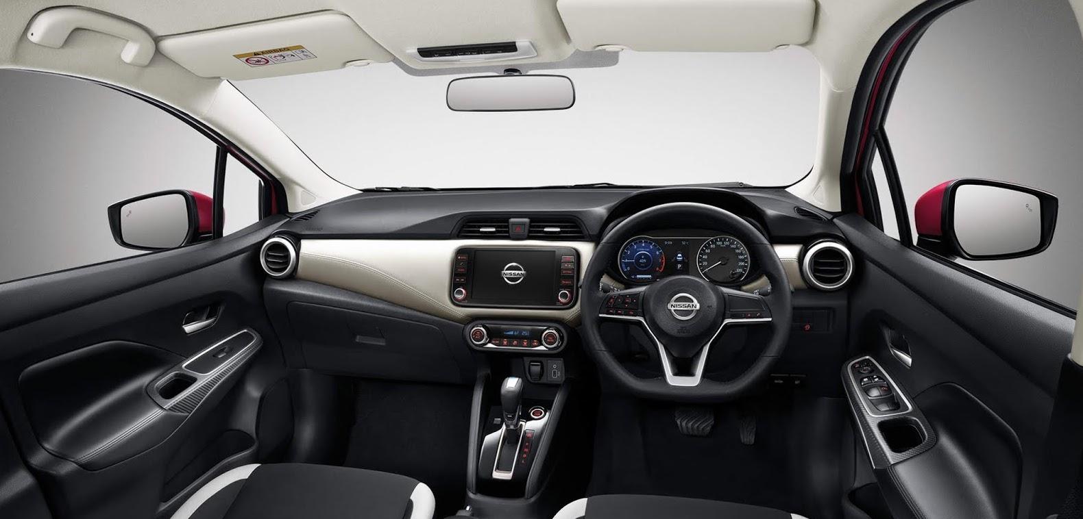 Nissan interrior