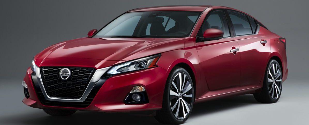 Nissan car side look