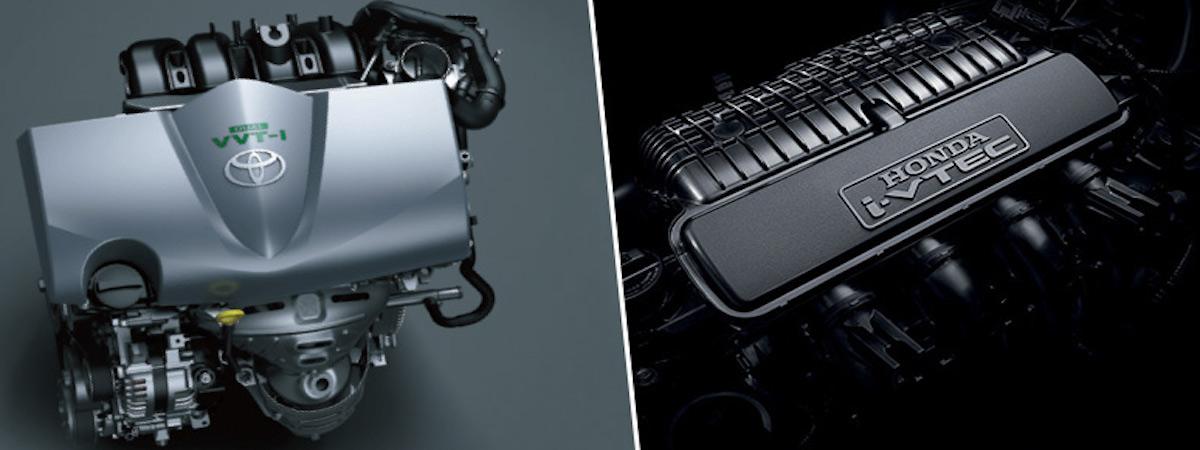 Honda City or Toyota Vios engines