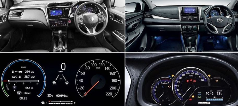 which Car is better Honda City or Toyota Vios